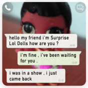 Chat With Surprise Lol Dolls