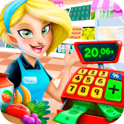 Supermarket Manager: Cashier Simulator Kids Games