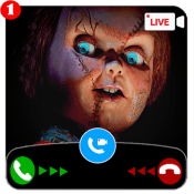 creepy scary doll video call and chat simulator