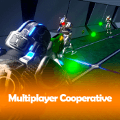 Flax: Cooperative Multiplayer Shooter TPS