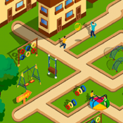 Maze tapper - maze for kids, labyrinth, puzzle